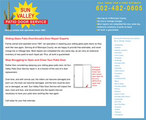 Sun Valley Patio Door Service